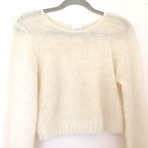 90s Mohair Crop Top